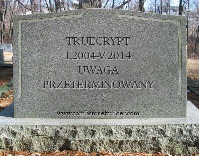 koniec truecrypta