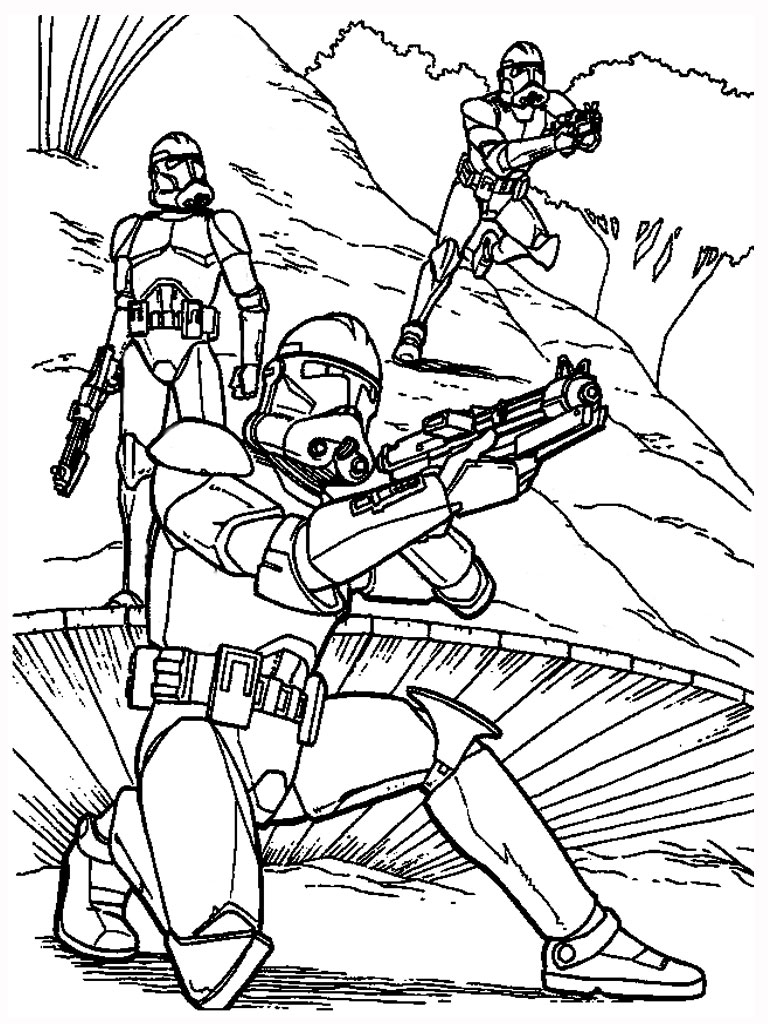 lego star wars coloring pages clone wars | clone wars coloring pages