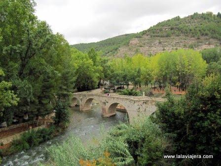 Hoz del Júcar: puente romano de Alcalá del Júcar