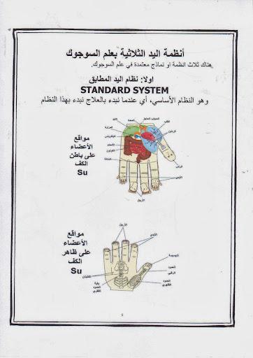 القسم الاول // انظمة اليد الثلاثية لعلاج السوجوك