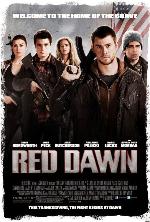 Poster Of Red Dawn (2012) Full Movie Hindi Dubbed Free Download Watch Online At Alldownloads4u.Com