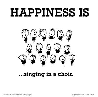 Pjevati u horu.