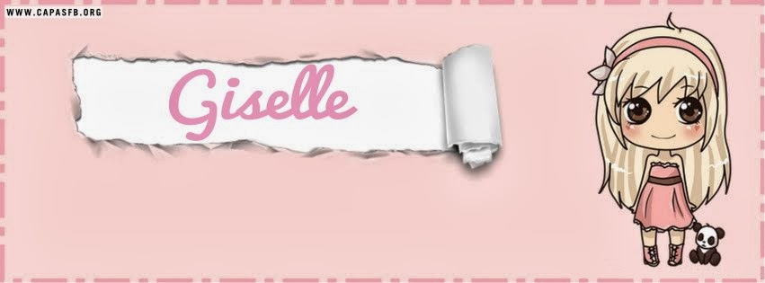 Capas para Facebook Giselle