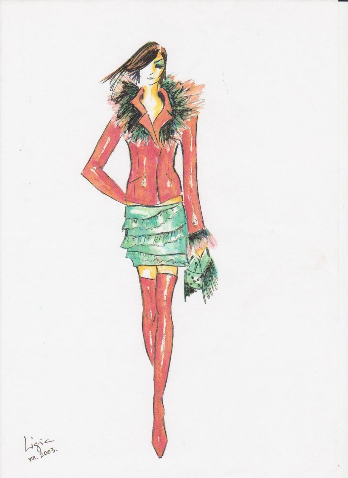 Fashion Sketches Luxury Lifestyle Design Amp Architecture