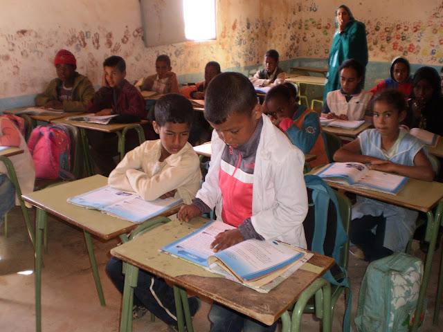Niños/as en la clase