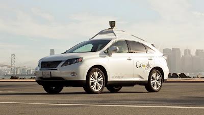 Googles selbstfahrender Lexus