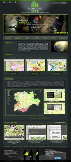 Servidor de Mapas Geológicos de Castilla y León