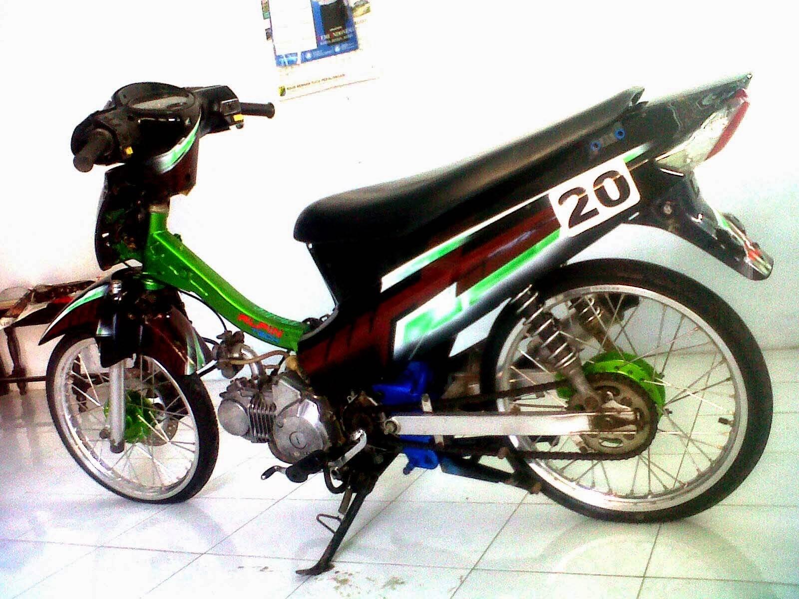 Foto Honda Karisma Modifikasi