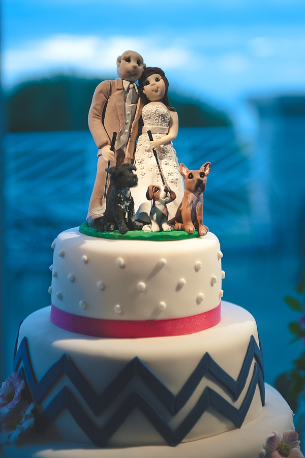 The Dog Cake Topper