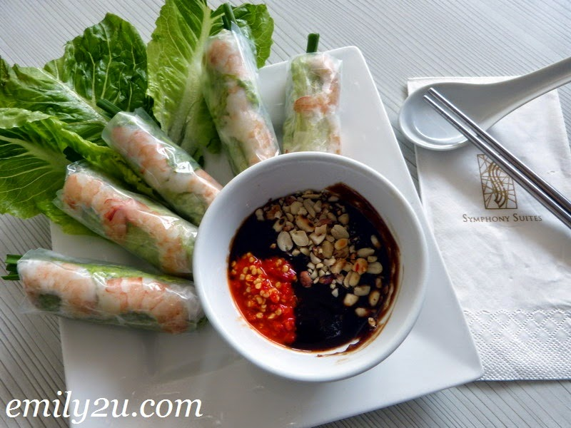 Vietnamese food Symphony Cafe