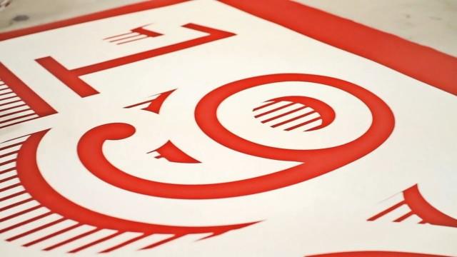 *Sony Music慶祝成立125周年紀念:利用活版印刷裝飾倫敦總部! 4