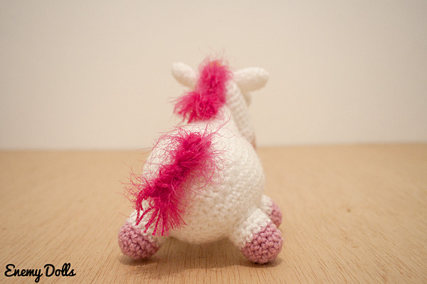 Amigurumi Unicornio Gru : El unicornio de gru aprender manualidades es facilisimo