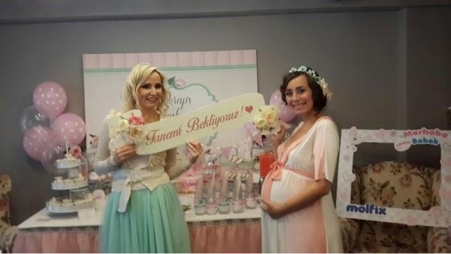 baby shower partisi - baby shower - kliksa - beliz kozmetik - impress - makyaj blogları - güzellik blogları - missha - artebella - gülsha - modagram - panço - klorane