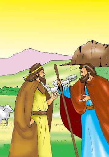 قصة الأبرص والأقرع والأعمى مصورة للأطفال
