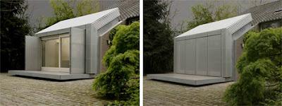 exterior garage home office conversion Mengubah Garasi Menjadi Kantor Rumah