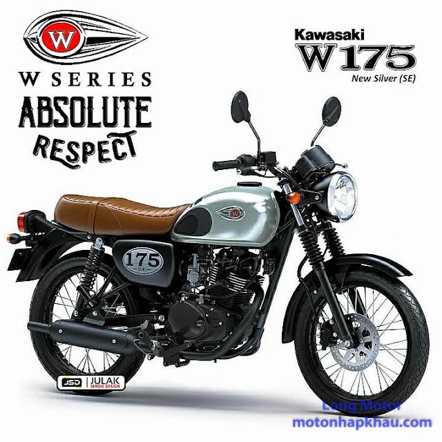Kawasaki W175 SE Bac