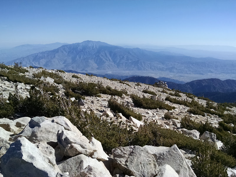 Mount San Gorgonio • View of San Jacinto Mountains