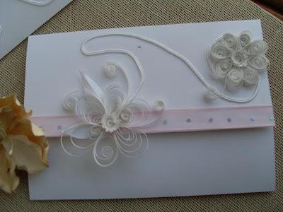 Invitación de boda con papel reciclado