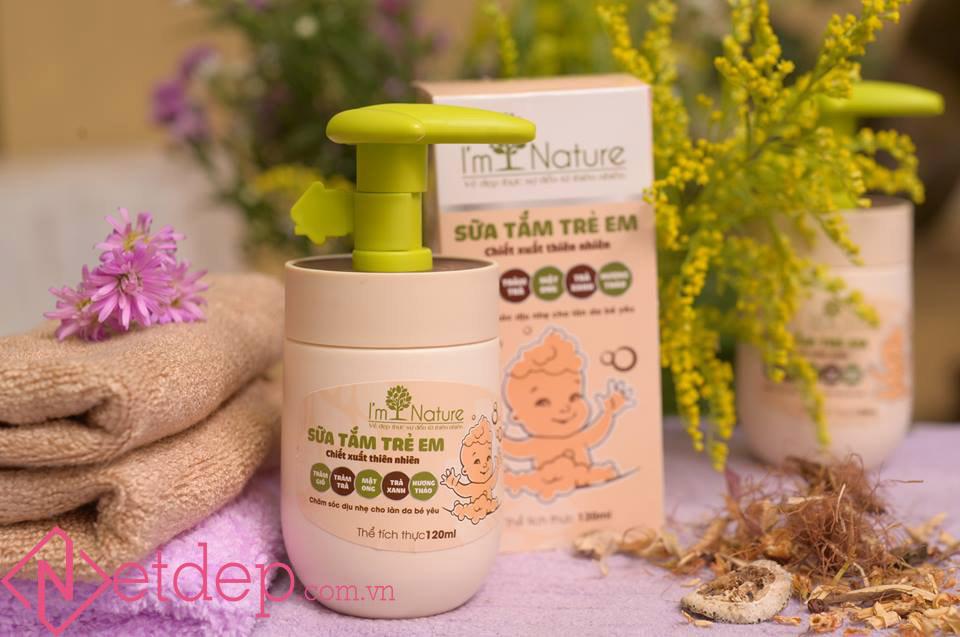 Sữa tắm trẻ em i'm nature