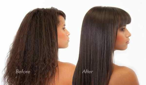 Resultados de usar una plancha para el cabello