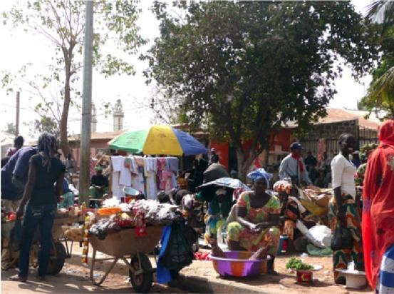 Mercado de Serrekunda