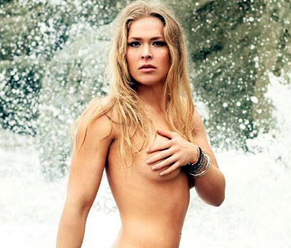 lutadora de MMA Ronda Rousey fotos nuas,mostra os seios