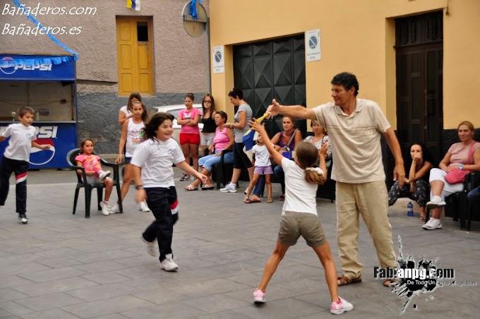 Juegos Infantiles y merienda, Martes 20 Fiestas en Honor a Santa Lucía 2011 El Puertillo