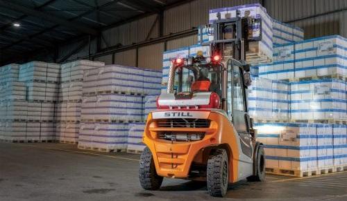 Still LPG Forklift 4-5 tons