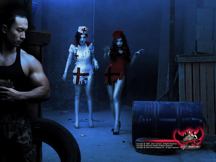 """""""Chảy máu mũi"""" với cosplay Đột Kích từ Trung Quốc"""