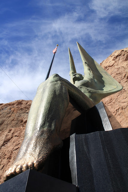 Silent Guardian of Hoover Dam
