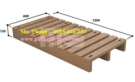 Pallet nhựa Malaysia nhập khẩu EN2-1206