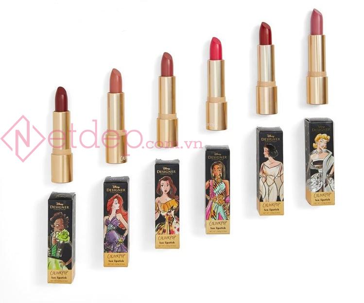 Colourpop x Disney Princesses Lux Lipstick