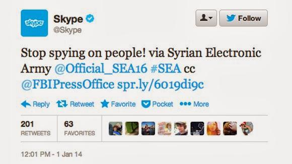 الجيش السوري الإلكتروني يخترق Skype1