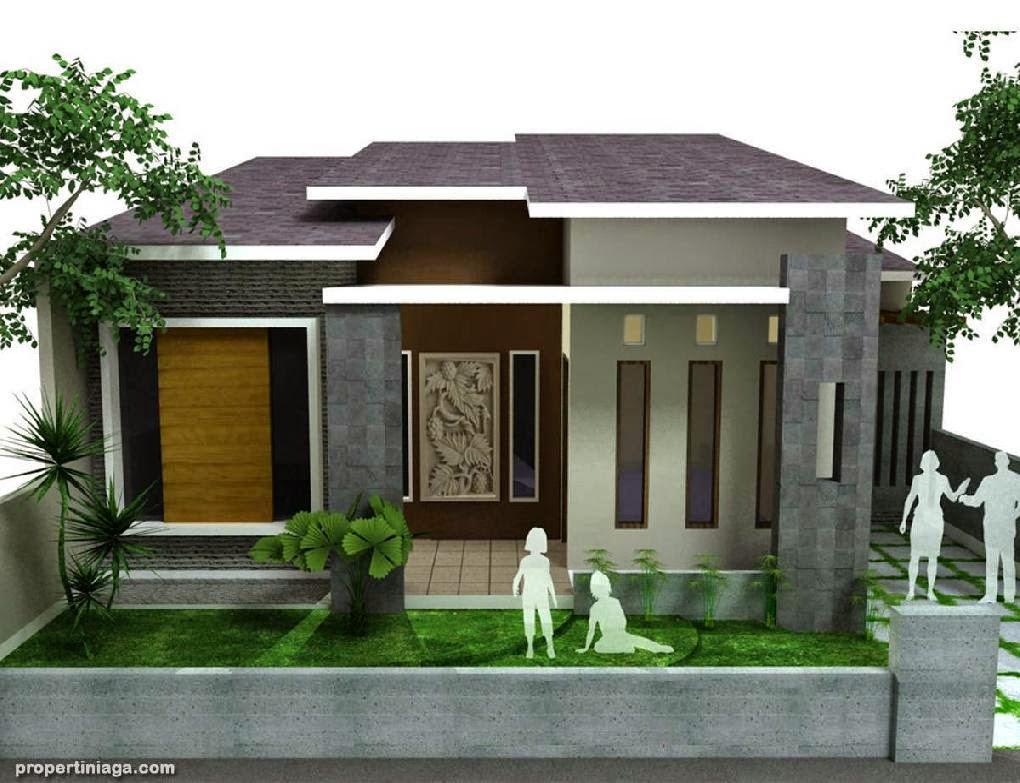 contoh model rumah minimalis modern gallery taman minimalis