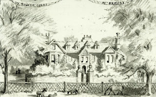 """Old Shelford House 1640 to 1852."" From A Record of Shelford Parva by Fanny Wale P58"