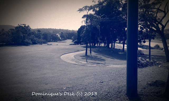 The golf course at the holiday resort