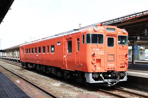 JR北海道 キハ40 1749 釧路駅にて