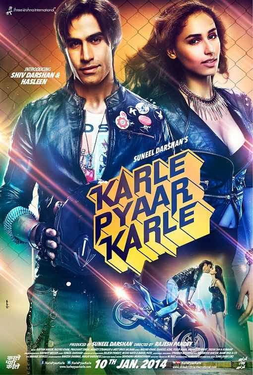 Poster Of Hindi Movie Karle Pyaar Karle (2014) Free Download Full New Hindi Movie Watch Online At Alldownloads4u.Com