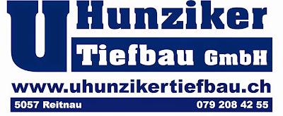 U.Hunziker Tiefbau GmbH / LOGO