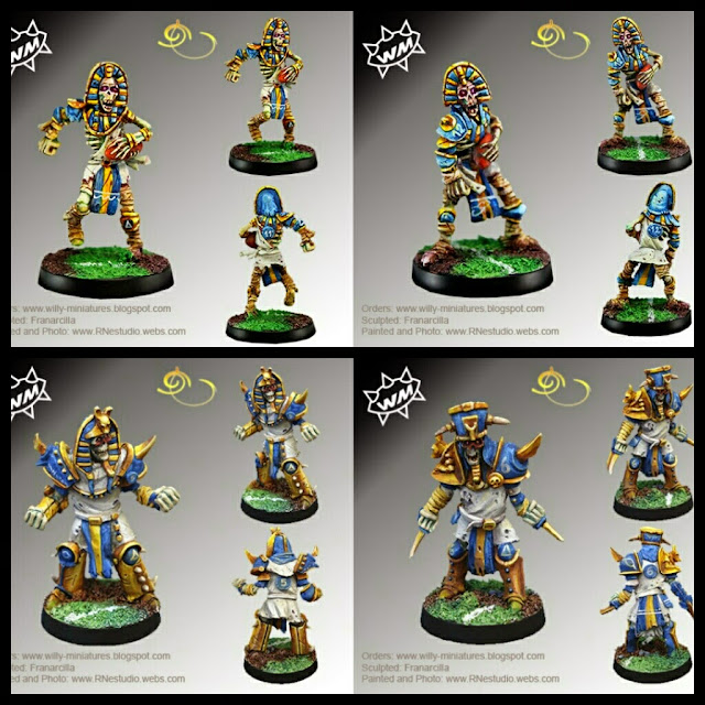 Thro-Ras y Blitz-Ras de Willy miniatures
