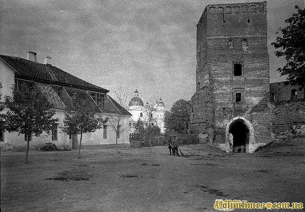 Луцький замок поч. 30-х