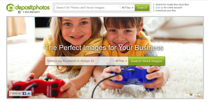 Get Photos For Your Business From Depositphotos