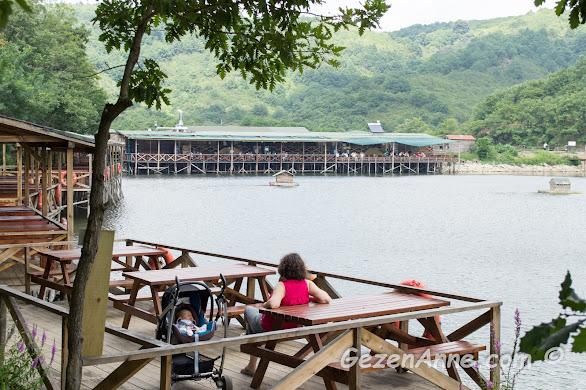 göl kenarında huzur, Karamandere Saklıgöl Şile