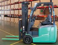 Xe nâng điện 3 bánh 1 - 2 tấn