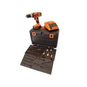 Buy A.E.G. Power Tools BSB 18 GKIT1X Combi Hammer Drill 18 Volt + 100pc Accessory