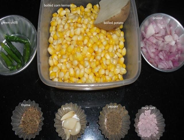 Corn Burger Recipe
