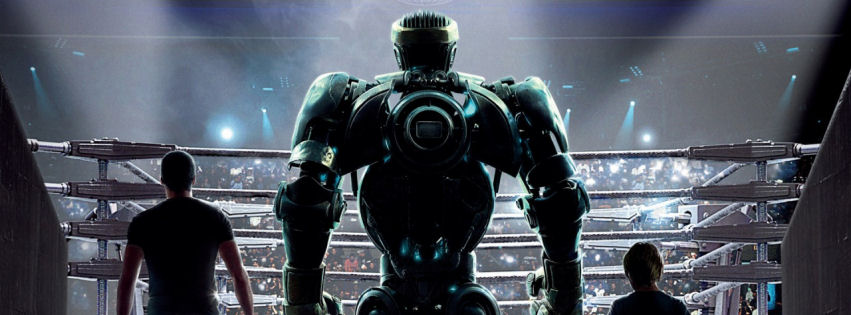 Real steel movie facebook cover