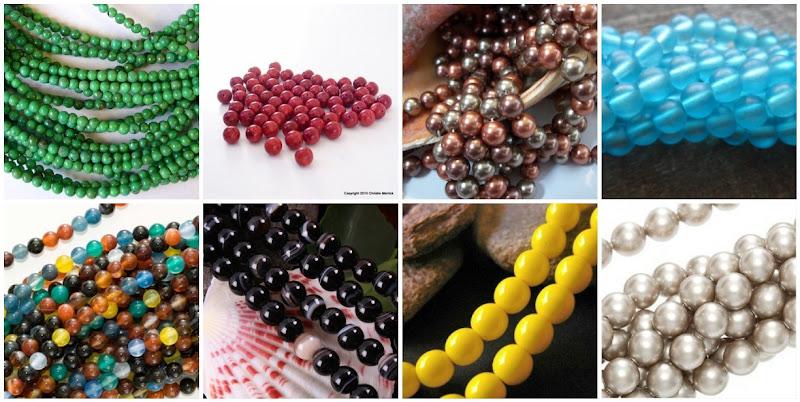 Assorted Round Beads