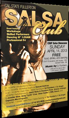 CSUF Salsa Showcase 2013