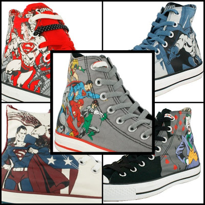 Kicking off the collection are Chuck Taylor High s for Superman 9c544ca23
